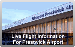 Coach Hire Glasgow - Airport Flight Information for Prestwick Airport